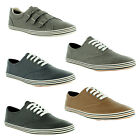 New Mens Plimsolls Trainers Lace Up Pumps Gents Plimsoles Size UK 6 7 8 9 10 11