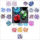 Wholesale 1000 Glass Crystal Finding Bicone Loose Spacer Faceted Bead 4mm Bulk