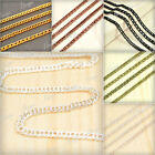 4m Curb Chain Five Colors 2.8x1.4x0.5mm Unfinished Chains