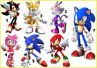 STICKER WALL DECO DECALL SONIC THE HEDGEHOG TAILS SHADOW AMY ROSE lot SI