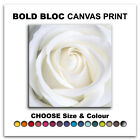 Rose Love Flowers FLORAL  Canvas Art Print Box Framed Picture Wall Hanging BBD
