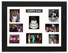 PERSONALISED 21ST BIRTHDAY, MULTI APERTURE MOUNT  PHOTO/PICTURE FRAME NEXT D