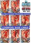 MATCH ATTAX 12 13 Choose Your LIVERPOOL Individual Base Cards 2012 2013