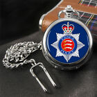 Essex Crest Flag Pocket Watch