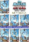 MATCH ATTAX 12 13 Choose Your MANCHESTER CITY Individual Base Cards 2012 2013
