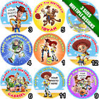 Circle Shaped Personalised Toy Story Fondant Icing Sheet Cake Topper 3 sizes a