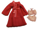 BARBIE SINDY DOLL LONG DRESSING GOWN BATH ROBE SLIPPERS & TOWEL 3 COLOURS: PINK