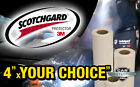 "4""x24"" to 4""x111"" 3M Scotchgard paint protection film - size options Low price"