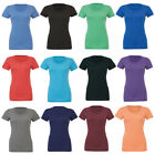 New BELLA CANVAS Womens Ladies Chic Fitted Tri-Blend T Shirt in 6 Colours S - XL