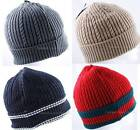 1 Piece Men's Boy's Winter Ski Beanie Knit Hat Cap Premium Headwear,Stretchy