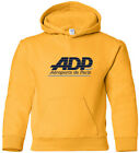 Paris Airport ADP Retro Aviation Logo Hooded Sweatshirt HOODY