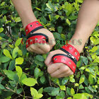 Men's Women's Leather Punk Rock Dance Nightclub Stage Zipper Gloves Bracelet New