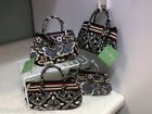 VERA BRADLEY CAITLYN BARCELONA OR SLATE BLOOMS NEW WITH TAGS & FREE SHIPPING