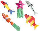 FISH WINDSOCKS. FOR WIND SOCK FLAG POLES