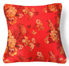 Bf011a Gold Peony Flower Rayon Brocade Cushion Cover/Pillow Case*Custom Size