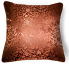BL104a All Brown Dragon Rayon Brocade Cushion Cover/Pillow Case*Custom Size