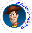 PERSONALISED BIRTHDAY TOY STORY STICKERS SEALS GIFTS FAVOURS INVITES KIDCS 2