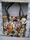 Limited Ed NEW SAKROOTS PEACE PRINT SHOPPER & WRISLET POUCH SET~CHOOSE UR COLOUR