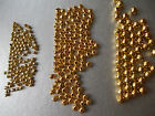 CHOOSE SIZE, 10g GOLD COLOUR SPACER BEADS, 2MM,3.2MM,4MM,6MM,METAL BEADS