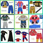 New Boys Girls Costume  Playsuit Set Outfit Multi Styles size 2.3.4.5.6.7.8