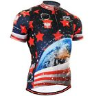 FIXGEAR CS_1002 Men's Short Sleeve Cycling Jersey Road Bike Shirt MTB Riding Top