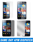 Screen Protector Guard LCD Cover Film Cleaning Cloth For Samsung I9100 Galaxy S2