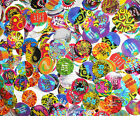EUROCAPS POGS Various Themes (Psychedelic Dinosaur Cosplay Twisted)