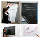 Magic Self-Stick Black Blackboard Chalkboard White Dry Erase Board Sticker Sheet