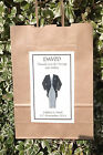 PERSONALISED WEDDING GIFT BAG BEST MAN USHER 3D SUIT OR KILT FATHER  PAGE BOY