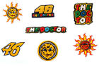 Patch 46 VALENTINO ROSSI moto gp YAMAHA the doctor scooter sport Honda Ducati
