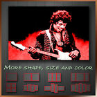 ' Jimmy Hendrix ' Modern Music Wall Art Deco Canvas Box
