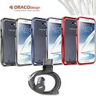 DRACO Design NOTE 2 ALUMINUM BUMPER Protection Case for Samsung Galaxy NOTE 2