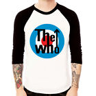 The Who target mod rock band UK retro Baseball t-shirt 3/4 sleeve Raglan Tee