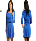 B10 New Blue Womens Wedding Cocktail Evening Party Chic Race Work Office Dress