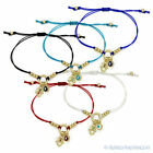 Evil Eye Turkish Greek Hamsa Hand of Fatima Judaica Kabbalah Luck Charm Bracelet