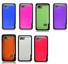 For HTC Vivid TPU Edge Colorful Flexible Soft Hard Cover Case Accessories