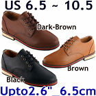 "HEIGHT INCREASING ELEVATOR SHOES_Upto 2.6""/ 6.5cm_3 colours_BD-bk-c"
