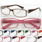 L144 Reading Glasses Spring Hinges Aspheric Lenses+50+75+100+125+150+175+200+250