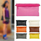 New Womens Colorful Fold-Over Clutch Handbags Messenger Totes Evening Bag Purse
