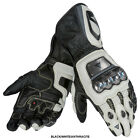 Dainese Full Metal RS motorcycle race gloves Black White Anthracite