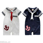 NWT baby clothes romper sailor  onepiece #257  12m 18m 24m