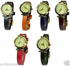 Women Ladies Watch Wristwatch Genuine Leather Wristband Vintage Style UK 1class