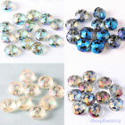 10/50pcs Faceted Crystal Glass Round Spacer Bead 14mm Jewelry Findings Charms