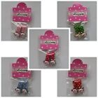 Cute Accessory Baby Kids Hello Kitty Face Colorful Flower Hair Alligator Clip
