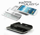 Ultra Slim Backlight Slide-Out Bluetooth3.0 Keyboard & Case for Galaxy S4 I9500