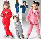 Baby Boy Tuxedo romper Outfit long sleeve winter cute 3 pieces set Blue pink red