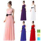 Ever Pretty One Shoulder Long Evening Bridesmaid Dress Formal Prom Gown 09869
