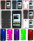 For Huawei Ascend Plus H881c Duo Layer TPU Hybrid Hard Cover Case Accessory