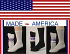 Mens Crew women plus 10-13 Sock size for men with big wide calf shoe size 10-13