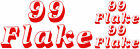 Large 99 Flake Decals, Catering Trailer Stickers / Graphics, Burger Van Decal